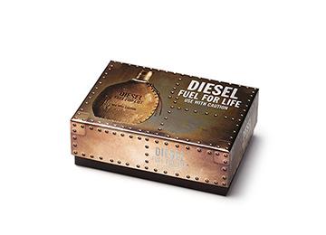 Diesel cosmetics packaging