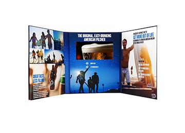 Video presentation folder