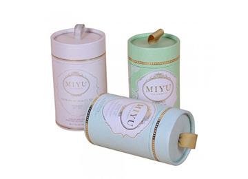 MIYU tea round tube packaging