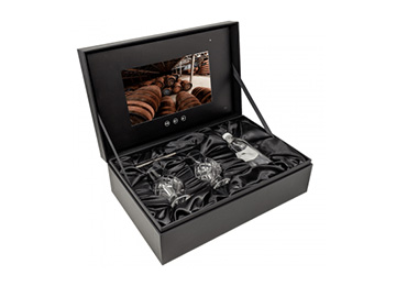 Promotional video box for glenfiddich