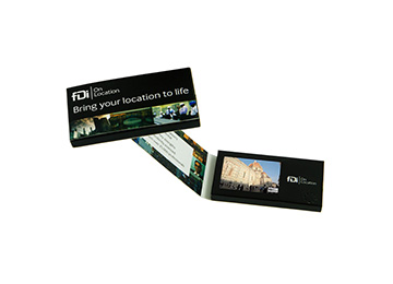 video business card for hard rock hotel
