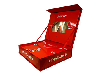 Coca Cola branded Video box