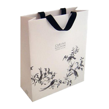 Bespoke ribbon handle bag