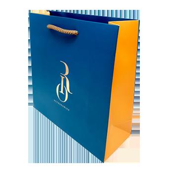 Elegant rope handle bag