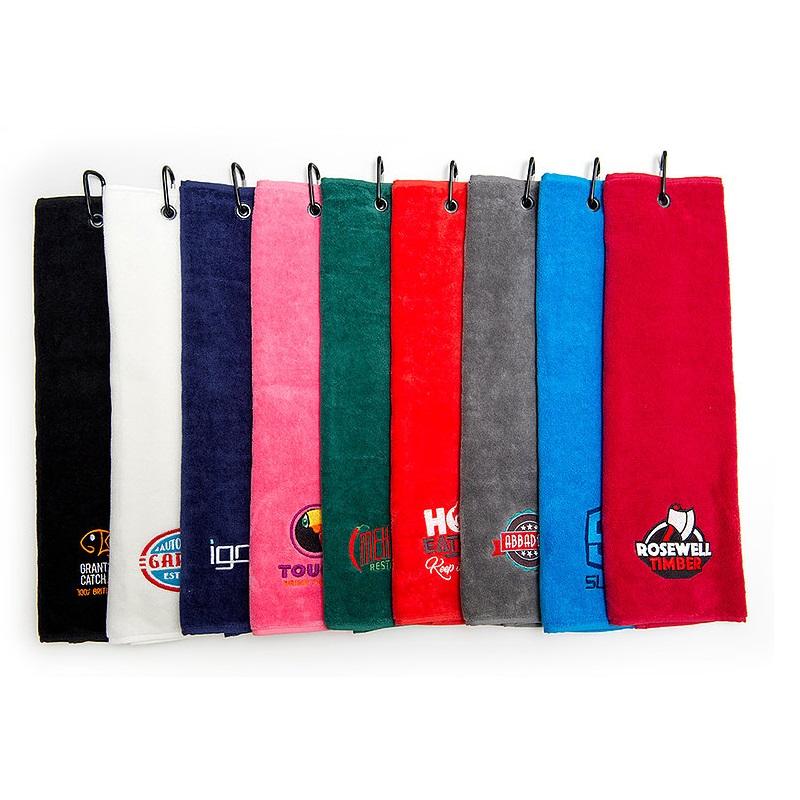 Luxury Velour Trifold Golf Towel