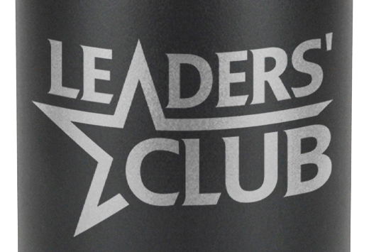 Etched logo zoom in example