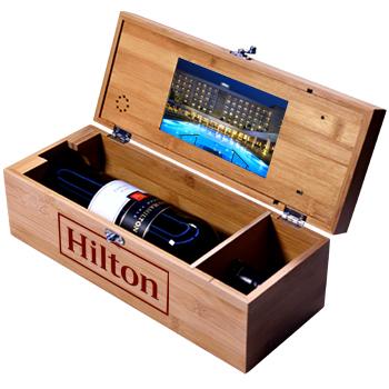 Wine box packaging