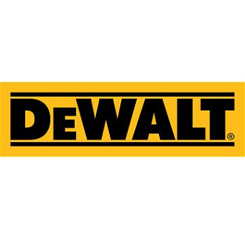 DeWalt logo for custom video business cards