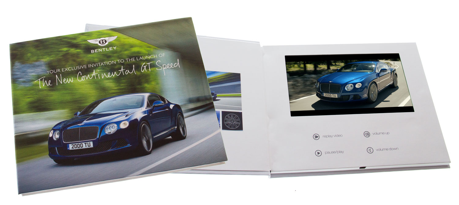 Quick turnaround video brochures express tv in a card fast video quick turnaround video brochures express tv in a card fast video brochures uk manufacturing reheart Gallery